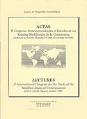Actas II Congreso Internacional para el Estudio de los Emc (Varios Autores)