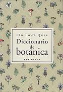 Diccionario de Botánica (Pio Font Quer)