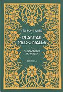 Plantas Medicinales (Pio Font Quer)