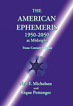 <b>Efemérides Astrológicas (1950 - 2050)</b>. The american ephemeris (1950-2050 at midnight)