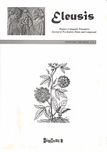 Eleusis (Nº2). Journal of psychedelic plants & compounds