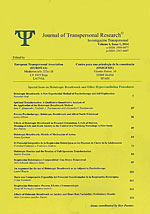 Revista de Investigación Transpersonal (Volumen 6/1, 2014) (Especial Respiración Holotrópica). Journal of Transpersonal Research (Volume 6/1, 2014)