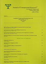 Revista de Investigación Transpersonal (Volumen 6/2, 2014) (Especial Compasión). Journal of Transpersonal Research (Volume 6/2, 2014)