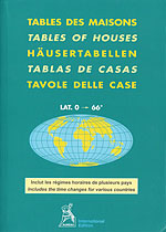 Tablas de Casas. Tables of houses. Tables des maisons