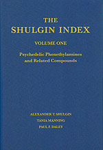 The Shulgin Index (Volume One). Psychedelic phenethylamines and related compounds