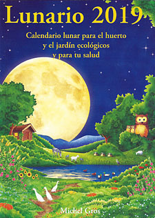 Calendario Lunar 2020 Espana.Lunario 2019 Michel Gros